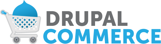 Drupal commerce website logo